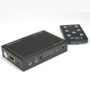 InstallerParts 5Way (13cm /1-out) HDMI Switch with IR Extension
