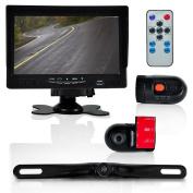 Pyle PLCMDVR72 Dash Cam Vehicle Driving Video Camera & Monitor System Kit, 18cm Display