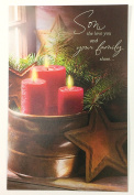 Christmas Card Son and Family (Son, the love you and your family share...)By American Greetings ea