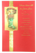 Christmas Card For Son(where Have All the Years Gone, Son,....) American Greetings ea