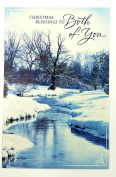 Christmas Card Religious(Christmas Blessings to Both of You...)American Greetings ea