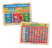 Melissa & Doug Disney Mickey Mouse Clubhouse Calendar & Responsibility Chart Magnetic Activity Toy