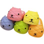 Bingole 1PC Random Colour Kawaii Otter Slipper Squishy Toys Hand Pillows Cellphone Bag Strap Pendants