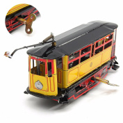 easyshop Rod Tram Collection Retro Toy Photography Props Retro Tin Toy
