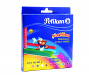 Pelikan Non-Hardening Modelling Clay, 10 Colours/Pack, Assorted Colours