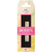Bohin Milliners Hand Needles, Size 10, 15 Per Package