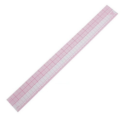 Lautechco® Professional Clothing Student Teacher Designers Curve Ruler For Dressmaking Tailor Support Tools And Easy Sewing Pattern Ruler (B-95 grading feet)