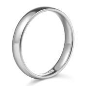 14k White or Yellow Gold 2mm Plain Wedding Band