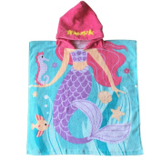 Child 100% Cotton Hooded Towel 60cm x 120cm