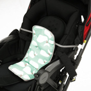 Lucky Baby's Cooler for Baby Strollers & Carseats. Keep Baby Cool in Summer when you're out. Easily Attaches to Car Seats, Strollers, or use as a Backpack. Mint Buggy