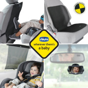 Chicco Universal Car Seat Accessory Set Kick Mats Undermats Shade Baby View Mirror Alert Sign