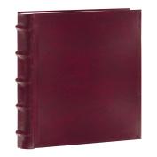 Pioneer Photo Albums 200-Pocket European Bonded Leather Photo Album for 13cm by 18cm Prints, Burgundy