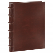 Pioneer Photo Albums 200-Pocket European Bonded Leather Photo Album for 13cm by 18cm Prints, Brown
