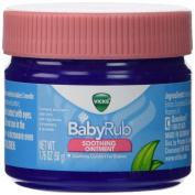 Vicks Babyrub Soothing Ointment Comfort For Babies 50ml Each