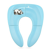 Jerrybox Foldable Travel Potty Seat for Babies, Toddlers Potty Seat with Carrying Bag