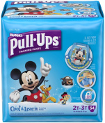 Huggies Pull-Ups Cool & Learn Training Pants - Boys - 2T-3T - 54 ct