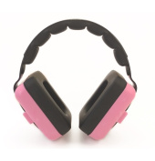 Little Llama Baby Hearing Protection Ear Muffs for 0 to 4 years old - Comfortable Noise Cancellation for your Infant Toddler and Child - Pink