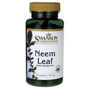 Swanson Neem Leaf 500 mg 100 Caps