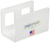 RAC-IT-UP CADDY II White Square, Larger Holes