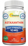 Pure Astaxanthin Supplement (Max Strength 10mg, 120 Softgels) - Powerful Antioxidant Pills from Haematococcus Pluvialis Extract - Natural Astaxanthin to Promote Eye, Joint, Skin, and Heart Health