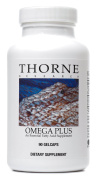 Thorne Research - Omega Plus - An Essential Fatty Acid Supplement with Omega-3 and Omega-6 - 90 Gelcaps