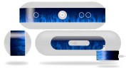 Fire Blue Decal Style Skin - fits Beats Pill Plus