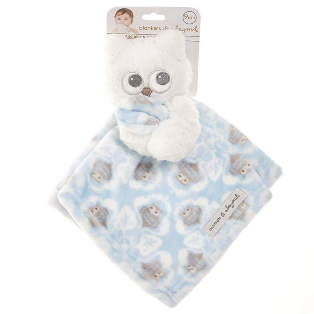 406a4c5c3b Blankets   Beyond Blue Owl Lovey Security Blanket by Blankets and ...
