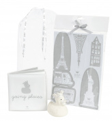 Bam bam New Baby Unisex Bath Gift Pack with Book Duck & Shape Sorter