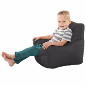 Comfy Toddler Armchair Beanbag Chair-Grey