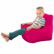 Comfy Toddler Armchair Beanbag Chair-Cerise Pink