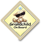 Grandchild On Board Car Sign, Grandchild Car Sign, Grandchild Shades Car Sign, Grandchildren On Board, , Car Sign, Bumper Sticker, Baby on Board, Driving Sign, Automobile Sign, Vehicle Sign, Joke Car Sign, Funny Car Sign, I Want That Sign