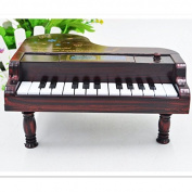EQLEF® Piano Shape Musical Box Night Table Music Box For Little Girl For Relaxing