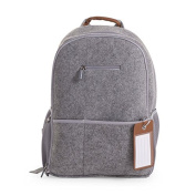 Child Home Felt Rucksack grey 45X34X20 cm