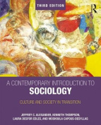 A Contemporary Introduction to Sociology