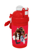 Secret Life Of Pets Pop up Water Canteen with button SLPets