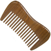Wide Tooth Wooden Comb Medium Tooth Green Sandalwood Pocket Comb Small Hair Comb Hair Brush