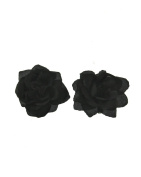 Zac's Alter Ego® Pair of Rose Flowers on Concord Clip