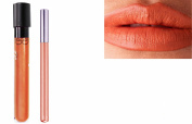 2pc Soft Peach Matt Kiss-Proof Lipstick Lip Colour Wand Set with Lip Liner