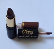BROWN Lipstick and Lipgloss New Eve Trendy 2 in1 Match it 15ml Cosmetic Duo Makeup set BROWN