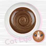 Cat Eye colour Uv Gel Magnetic 5 ml-reconstruction Claw nail art effect and Stamp Magnetic Magnet bronze