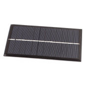 sourcingmap DC 6V 1W Rectangle Energy Saving Solar Cell Panel Module for Charger