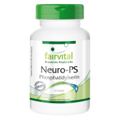 Fairvital - Neuro-PS Phosphatidylserine 100mg - From Soy Lecithin 500mg - 30 Softgels