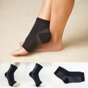 Foot Angel Compression Foot Sleeve, Releives Plantar Fasciitis, Heel Pain & Foot Fatigue