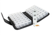Pill Organiser Case Premium 14 Day Wallet Removable Daily Boxes Compartments