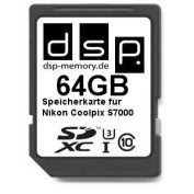 DSP Memory Z 4051557429703 64GB Ultra High Speed Memory Card for Nikon Coolpix S7000 Digital Camera