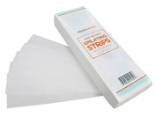 BodyHonee Non-woven Hair Removal Waxing Strips, 100 Pack
