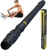 PHYSIX GEAR SPORT Muscle Roller Stick - Best Durable Massage Tool for Cramping Legs, Sore Muscles, Back Pain, Calf Cramps, Trigger Points & Myofascial Relief - Top Rated Deep Tissue Recovery Massager