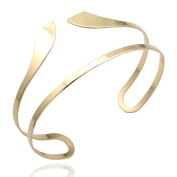 Q & Q Fashion Egypt Bar Curve Geo Open Upper Arm Cuff Armlet Armband Bangle Bracelet Gift