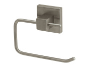 Bisk Nord Range Brushed Nickel Toilet Roll Holder without Cover, Bronze, 12.5x3x9.5cm