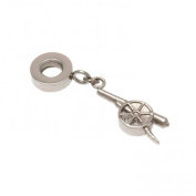 Official Arsenal FC Stainless Steel Cannon Bracelet Charm